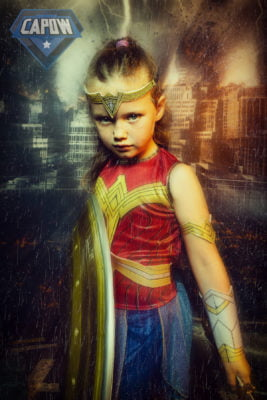 kids super hero photoshoot