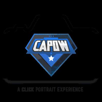 super hero photoshoot experience logo
