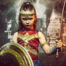 kids super hero photoshoot experience