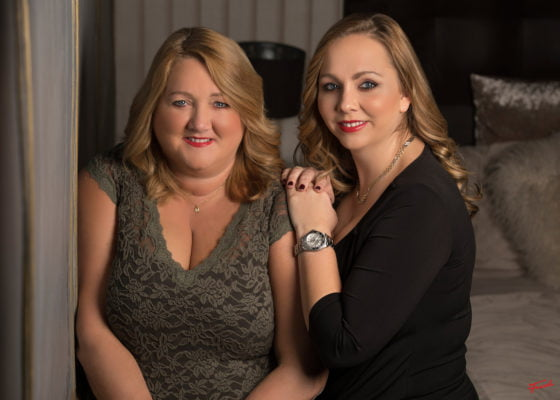 mother and daughter photo shoot experience