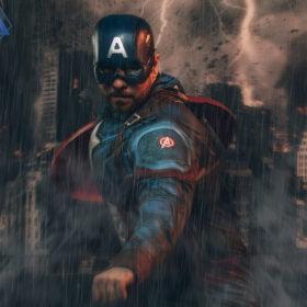 super hero photoshoot experience