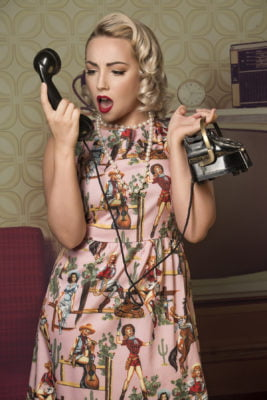 pin up makeover professional photoshoot