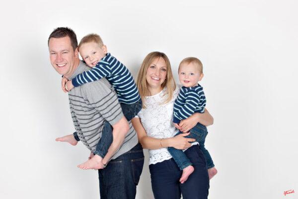 family studio photoshoot