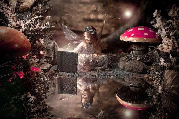 enchanted fairy photoshoot studio